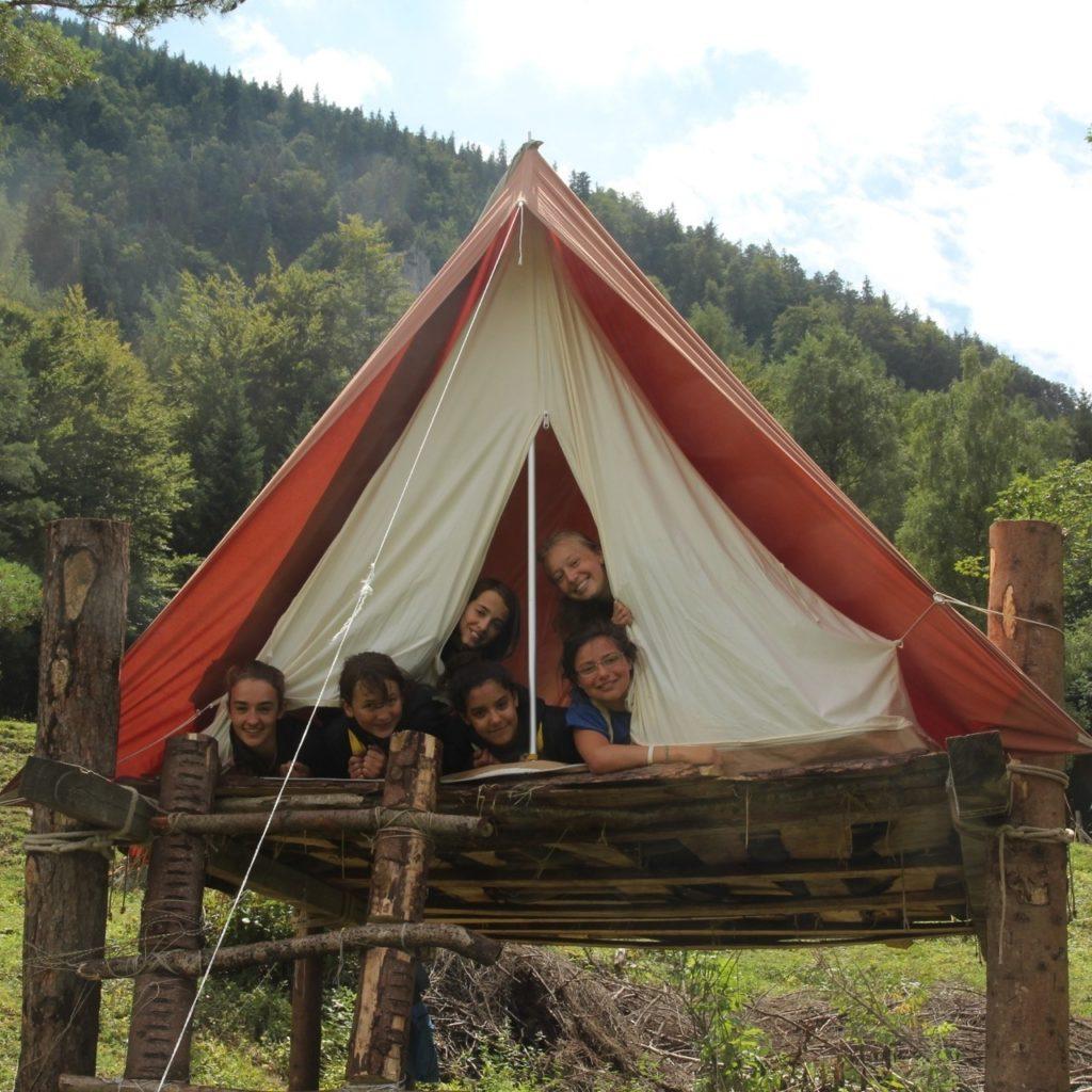 Promo sur les tentes Spatz 10 places chez Hajk !